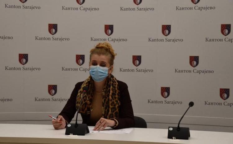 V. d. predsjednice Kriznog štaba Ministarstva zdravstva Kantona Sarajevo Anisa Bajramović