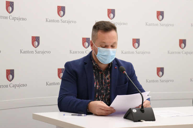 Kemal Beganović, član Kriznog štaba KS