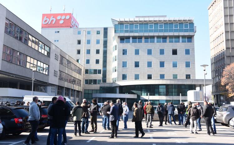 Štrajk radnika BH Telecoma