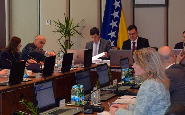 Vijeće ministara održalo telefonsku sjednicu