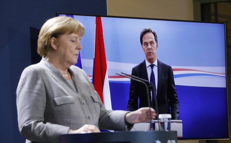 Merkel se sastala s drugim liderima