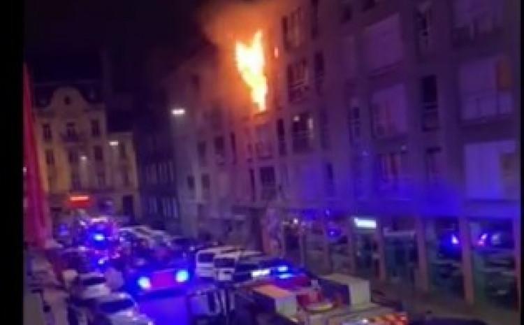 U požaru nije bilo povrijeđenih