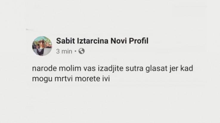 Status sa Facebooka