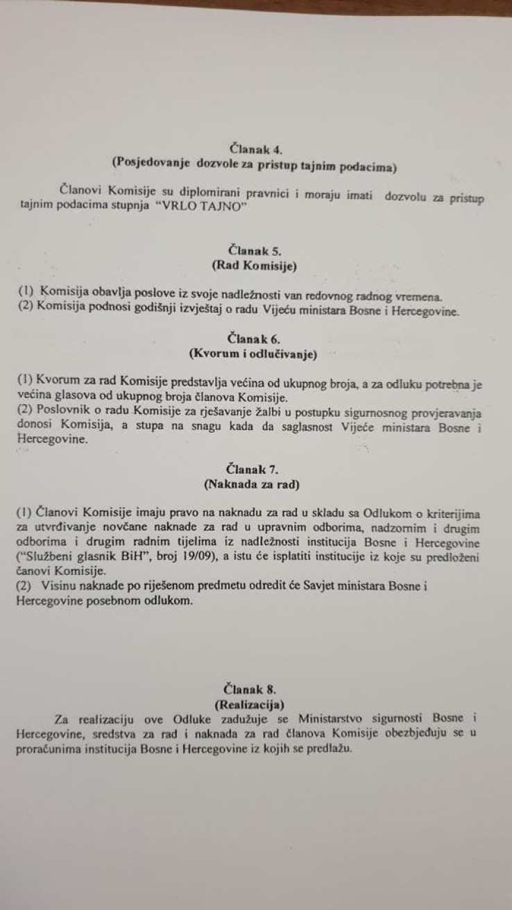 Član 4. je jasan