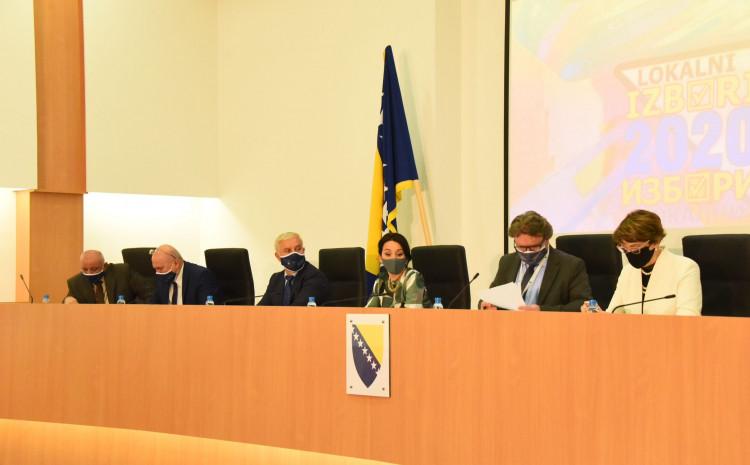 Press konferencija CIK-a BiH