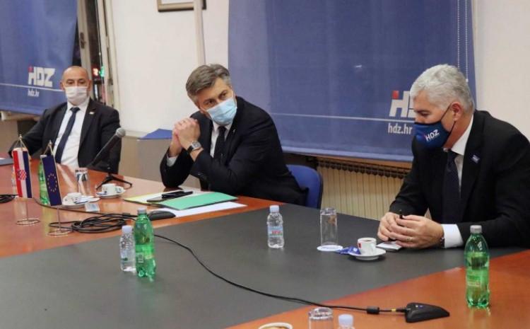 Čović naglasio da je BiH prijeko potrebna politička stabilnost