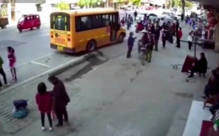 Nesreću snimile sigurnosne kamere
