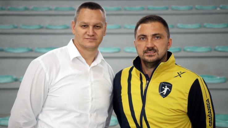 Predsjednik Musić i trener Doborac