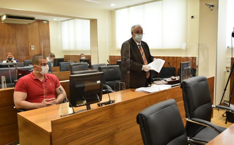 Nedeljko Dukić u sudnici