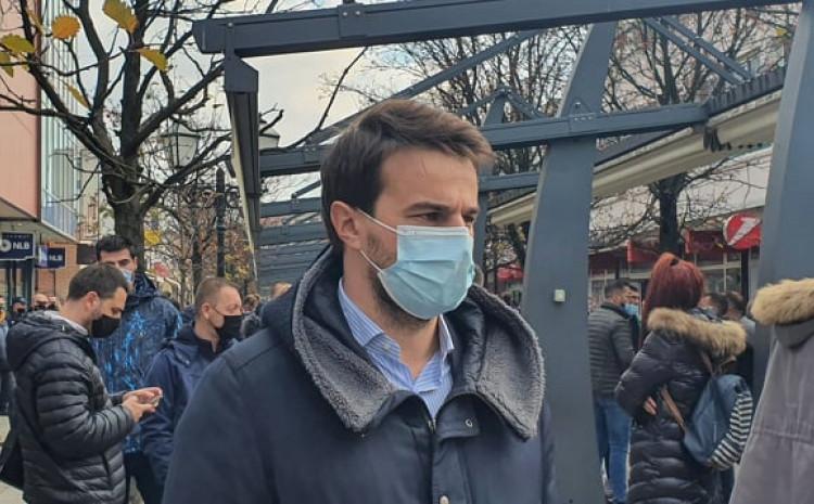 Muzur na protestima na Ilidži