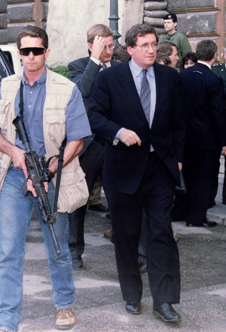 Holbruk posjećivao Sarajevo i 1995.