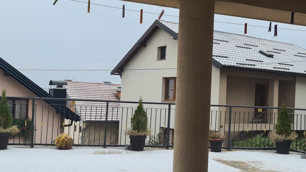 Prvi snijeg u Sarajevu