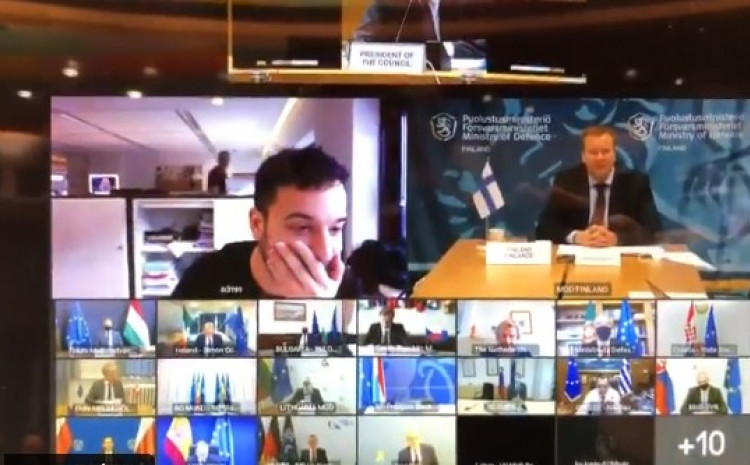 Nizozemski novinar na sastanku EU zvaničnika