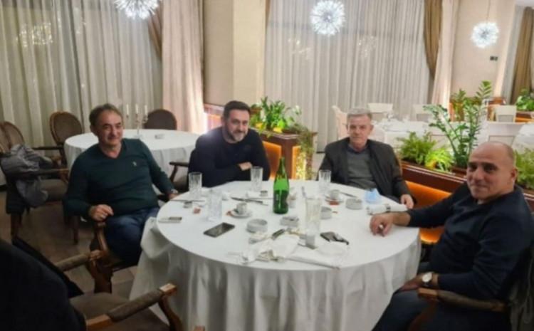 Ramić, Kukić i Hodža: Uslikani u  jednom restoranu