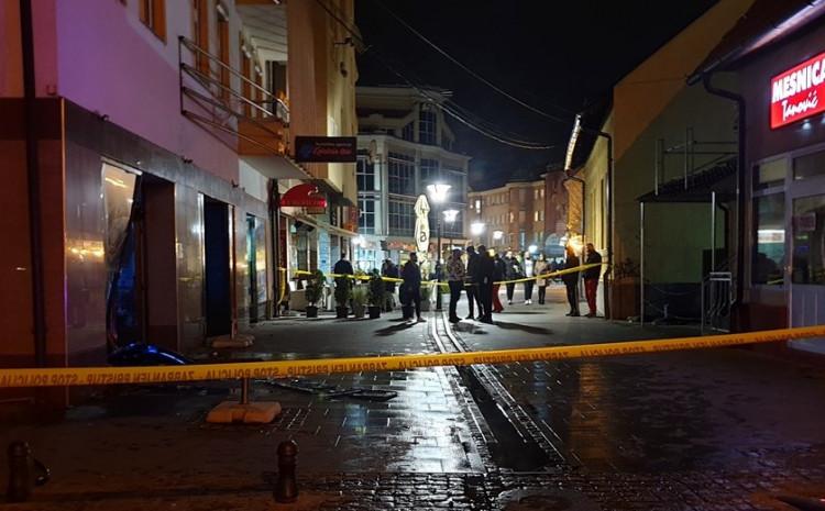Incident u centru Tuzle