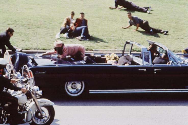 Detalj nakon pucnja i ubistva