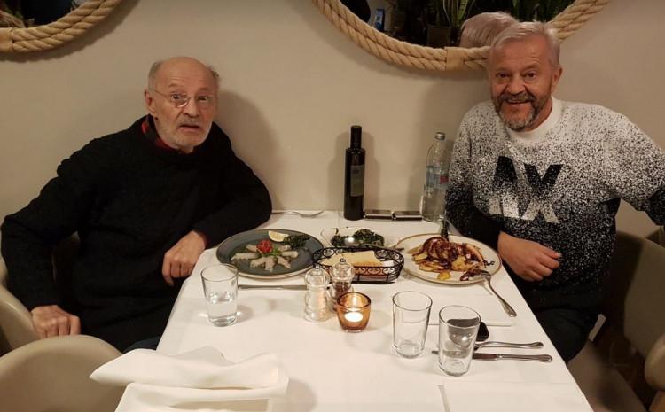 Mustafa Nadarević i Emir Hadžihafizbegović