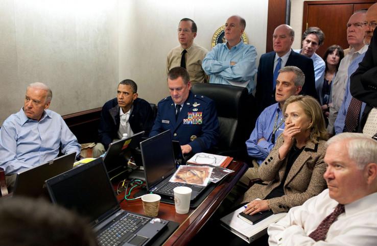 Sa vrhom Obamine administracije prati likvidaciju Bin Ladena