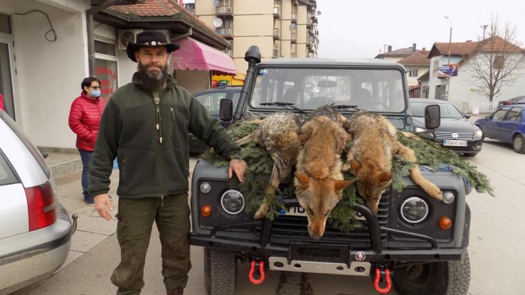 Milosavljević ustrijelio tri vuka