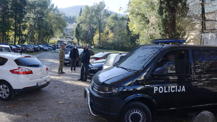 Događaj osiguravale jake policijske snage