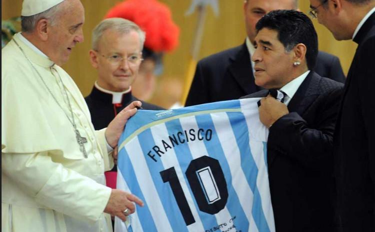 Papa Franjo i Maradona