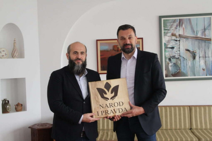 Muamer Zukorlić i Elmedin Konakvić