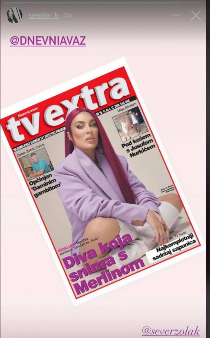 "Naslovnica ""TV Extre"""