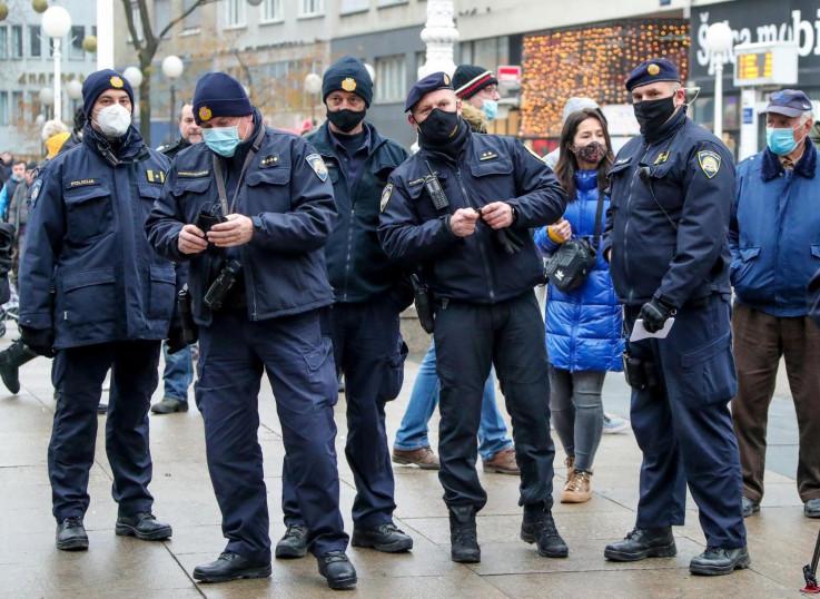 U Zagrebu pojačane policijske snage