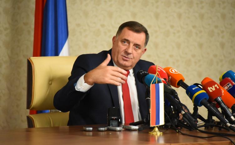 Dodik tvrdi da je ugrožena sigurnost pojedincima