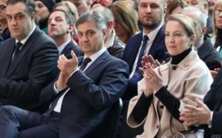 Denis Zvizdić i Sebija Izetbegović
