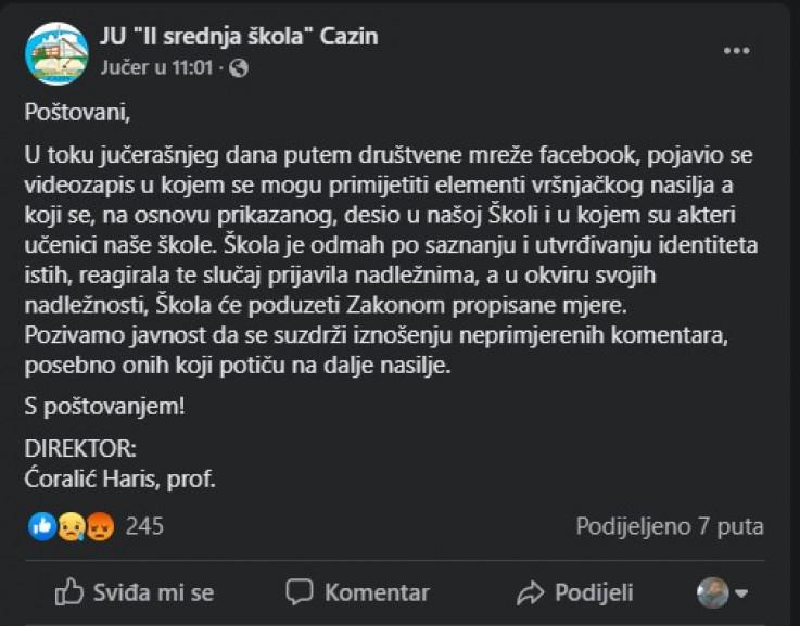 Status direktora Ćoralića