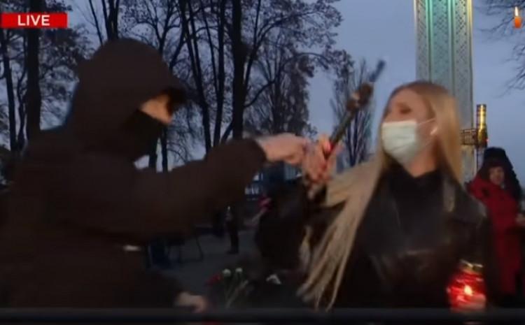 Novinarka žrtva napada