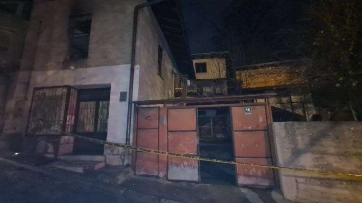 Kuća u kojoj je izbio požar