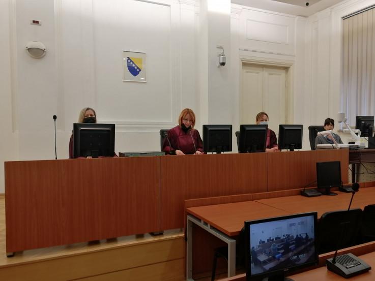 Vijeće kojim je predsjedavala sutkinja Sanela Rondić
