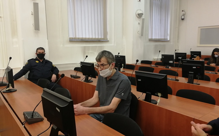 Senad Basarić danas u sudnici