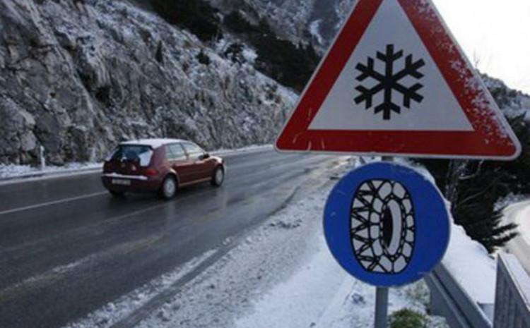 Slab snijeg pada na području Bihaća