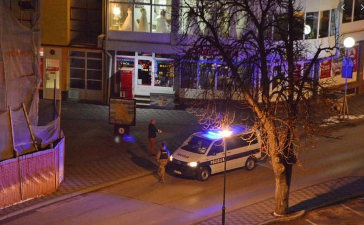 Policijske snage u Bugonju u potrazi za pljačkašima