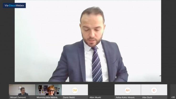Zastupnik Albin Muslić (SDP)