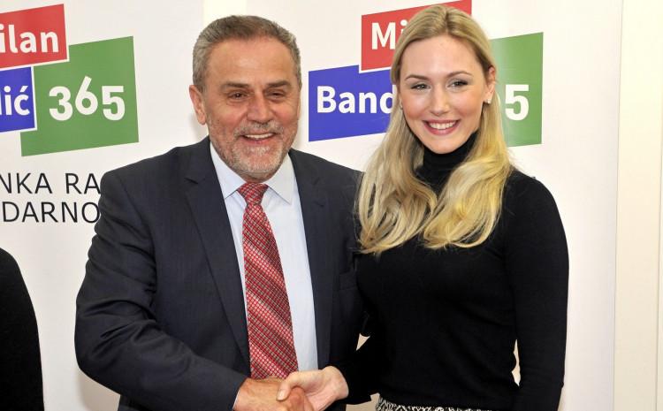 Milan Bandić i Natalija Prica Oreški