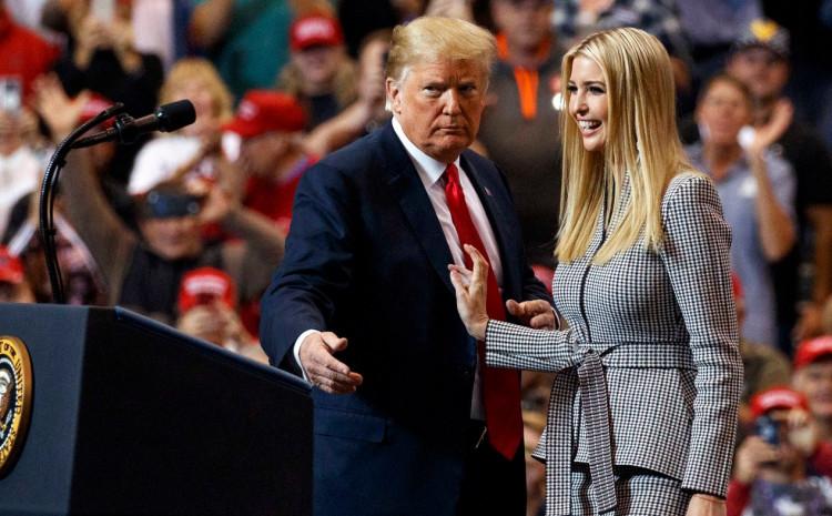 Donald i Ivanka Tramp