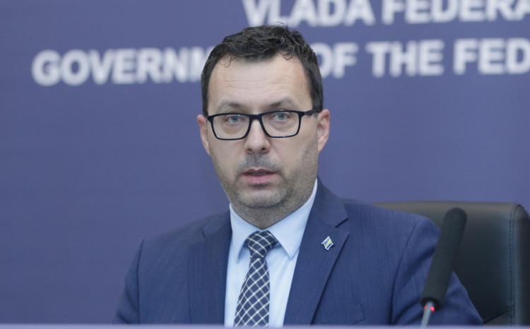 Federalni ministar energije, rudarstva i industrije Nermin Džindić
