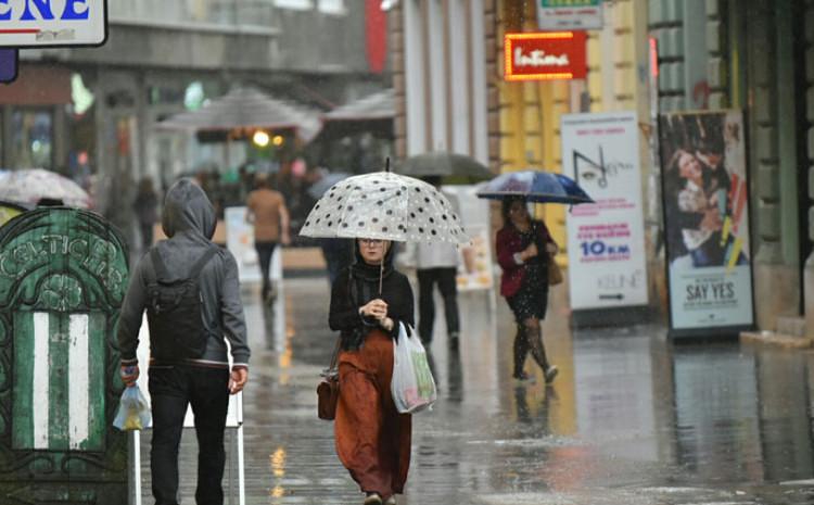 Narednih dana padat će kiša