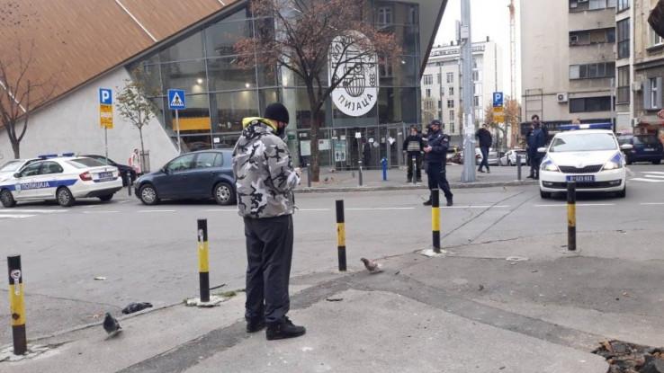 Eksplozija u blizini zgrade RTS-a