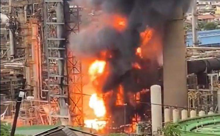 Eksplozija u naftnoj rafineriji