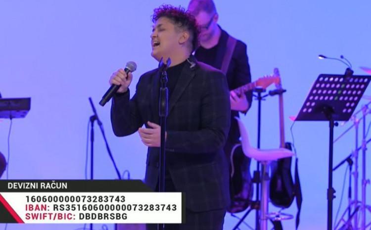 Humanitarni koncert Marije Šerifović