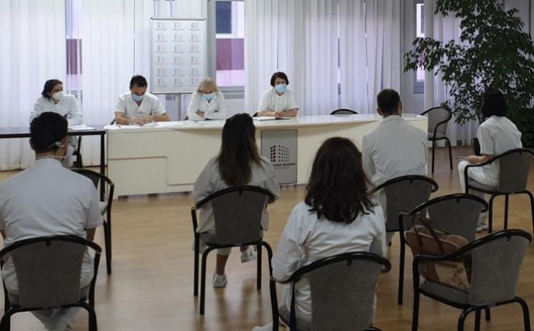 Tokom proteklog dana iz Opće bolnice prebačen je jedan pacijent na Kliniku na Podhrastove