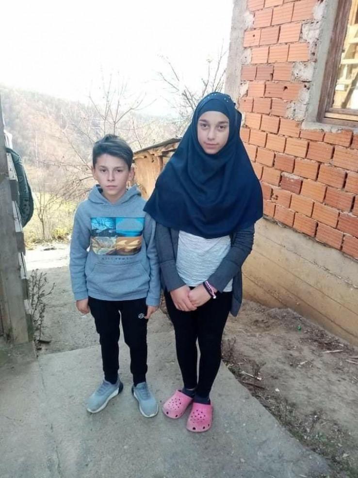 Dvanaestogodišnji dječak Amar i četnaestogodišnja djevojčica Ajna