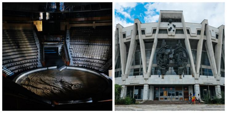 Napušteni sovjetski cirkus, Moldavija