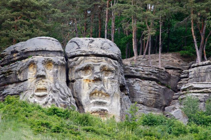 Đavolje glave, Češka