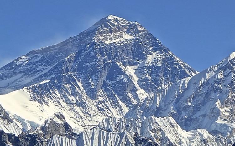 Najviša svjetska planina Mount Everest 86 centimetara je viša od dosadašnjeg službenog podatka